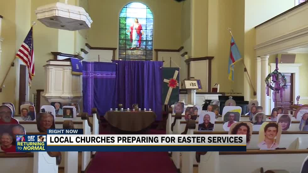 Local churches preparing for Easter services