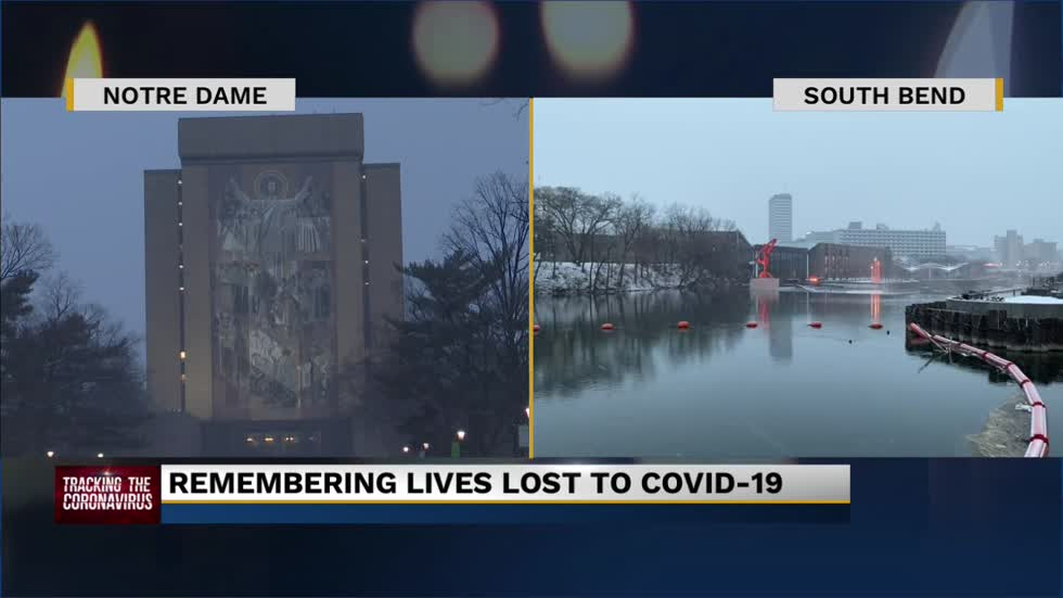"Local communities honor COVID-19 victims in ""Shine a Light""..."