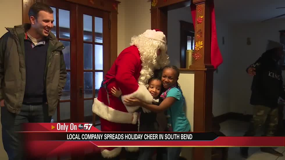 Local company spreads holiday cheer to families facing tough challenges