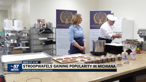 Local couple's stroopwafel company is their version of the 'American Dream'
