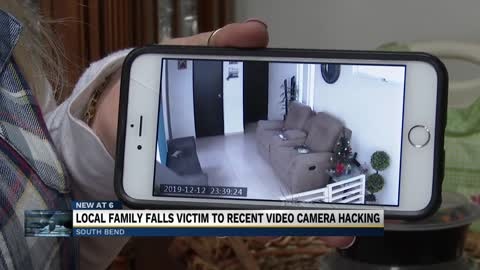 Local family falls victim to recent video camera hacking