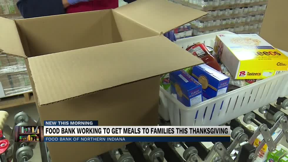 Local food bank working to provide meals to families this holiday season