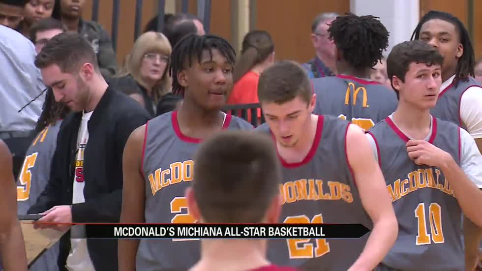 Local hoops talent showcased at annual McDonald's All-Star game