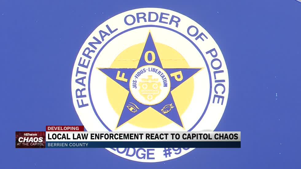 Local law enforcement react to Capitol chaos