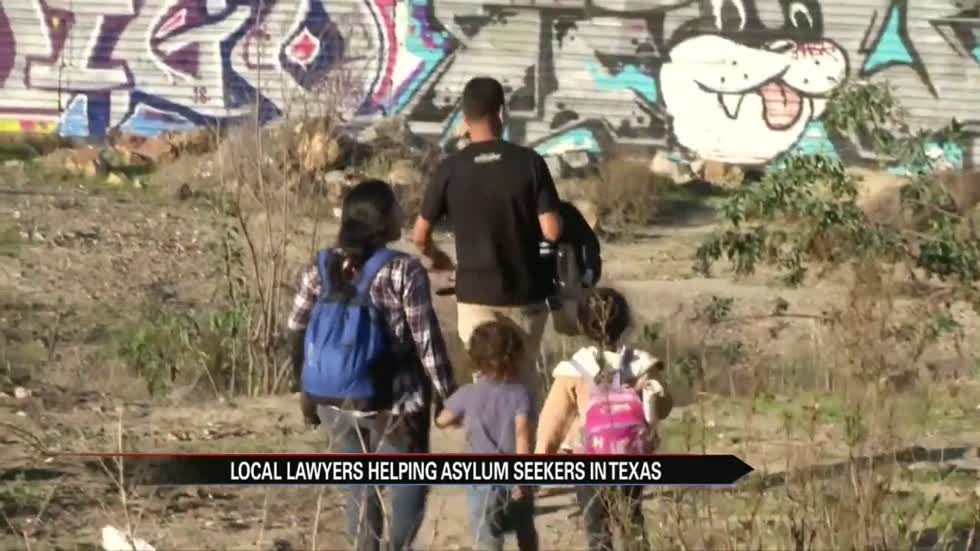"Local law team helping asylum seekers: ""They're human beings that need assistance"""