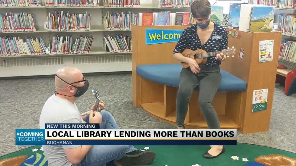Local library lending more than books