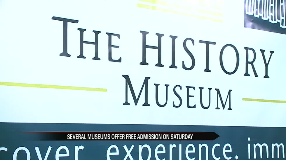 Local museums offer free admission Saturday