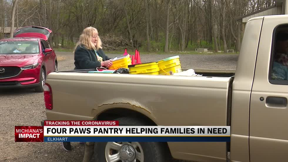 Local non-profit helping pet families feed furry friends