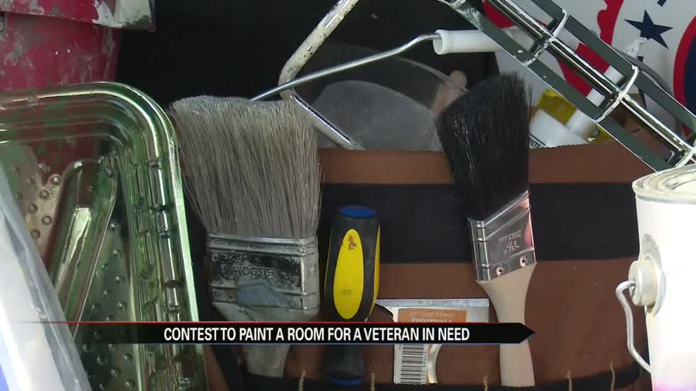 Local painters hosting a contest for a veteran in need