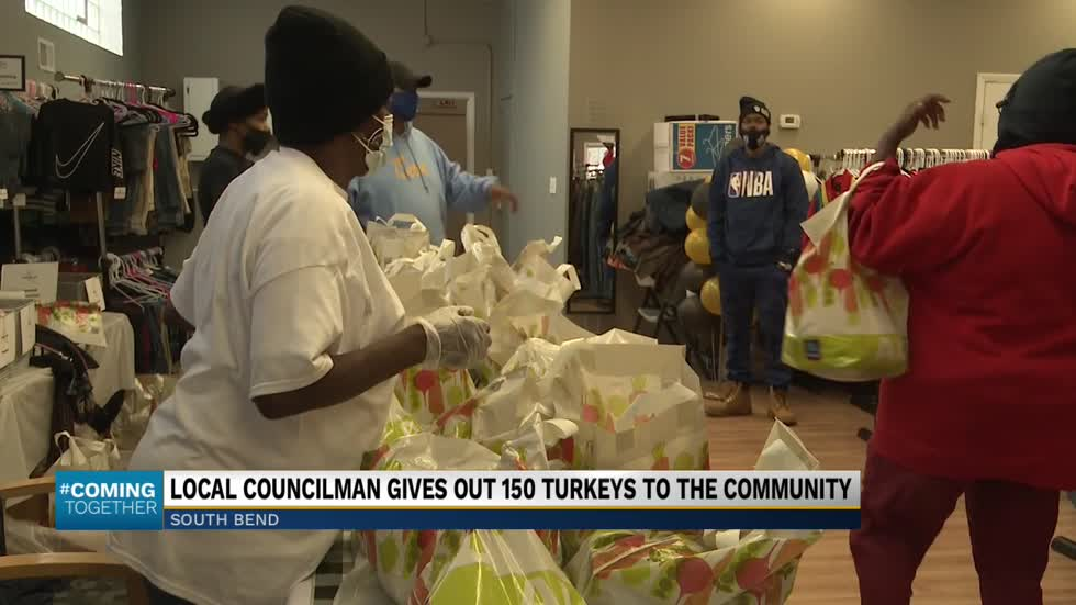 Local pastor and wife give away Thanksgiving turkeys to struggling...