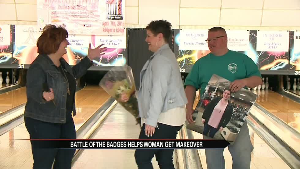 The annual Battle of the Badges bowling competition is held and it raised money for Cancer