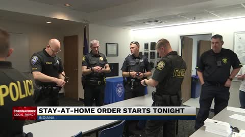 Local police working to educate public on stay-at-home order