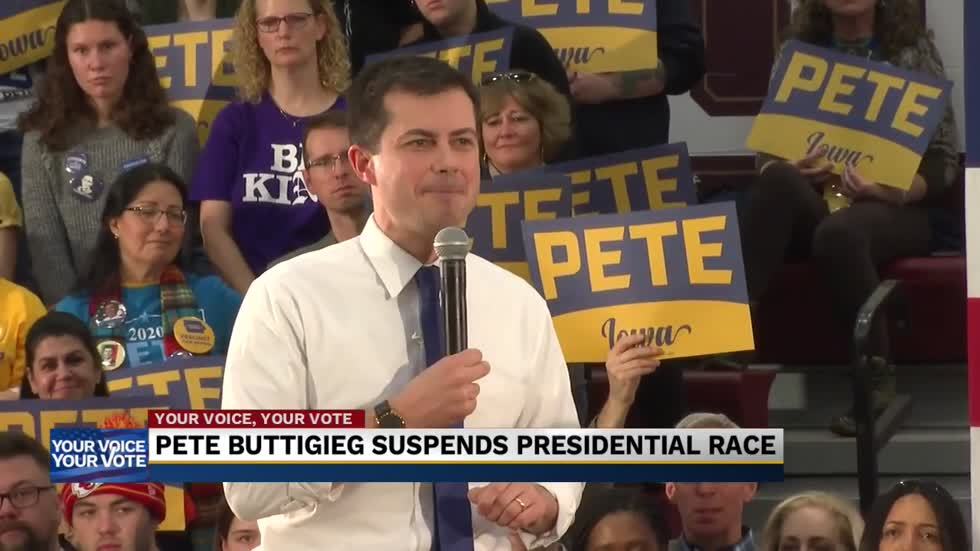 Local political expert weighs in on Buttigieg suspending presidential campaign