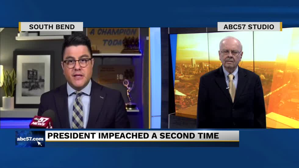 Local political expert breaks down second impeachment of President Trump