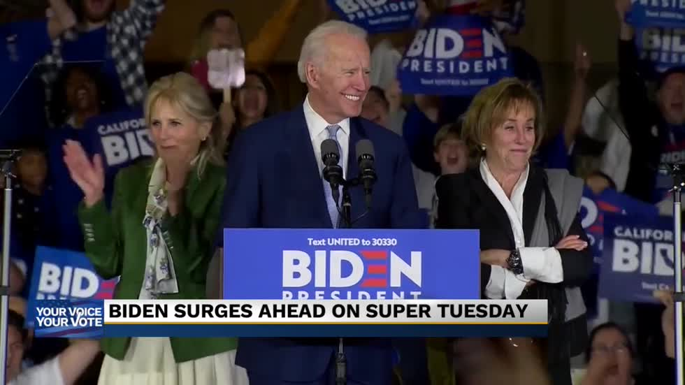 Local political expert weighs in on Biden's Super Tuesday success