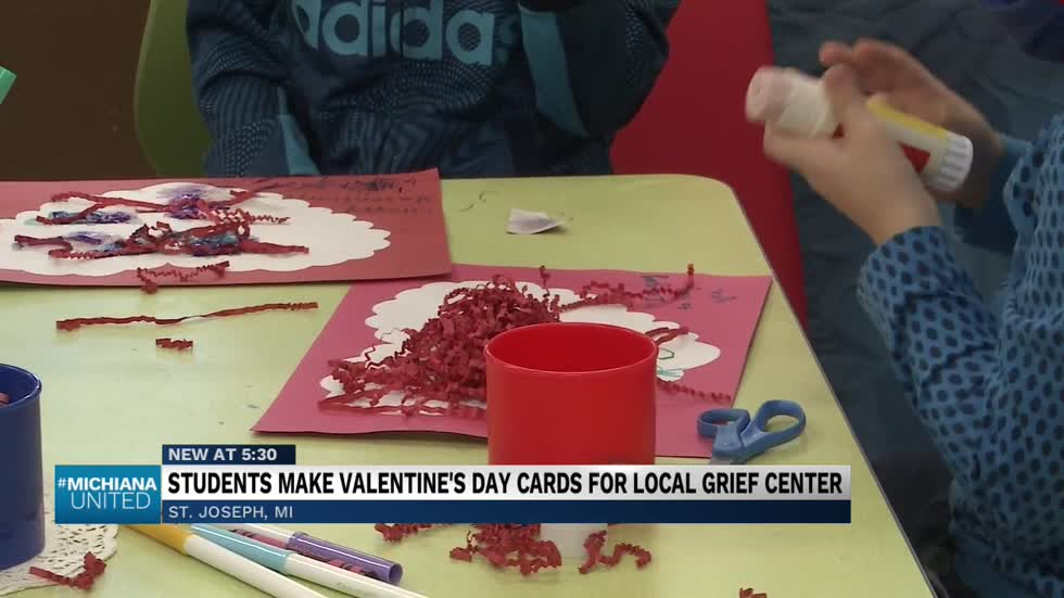 Local pre-school students hoping to make Valentine's Day even more special