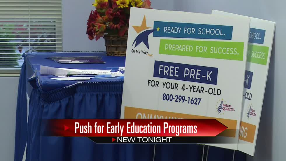 "Local programs prepare for ""On My Way Pre-k"" roll out"