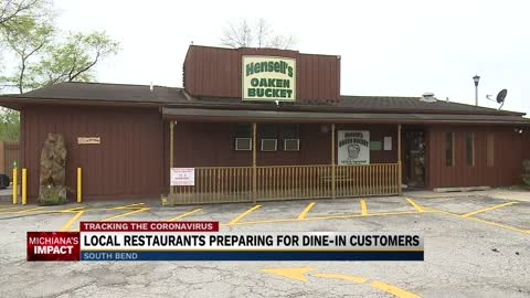 Local restaurants prepare for the return of dine-in customers