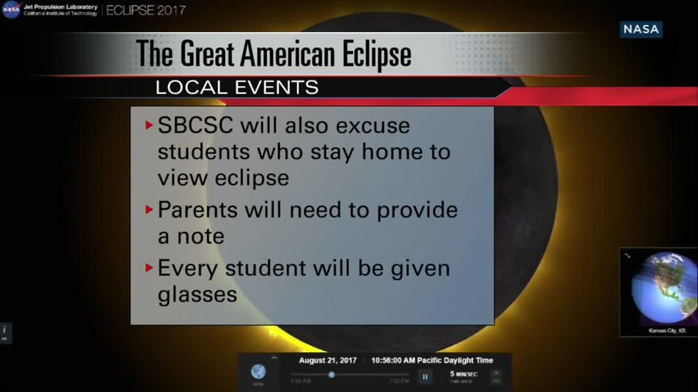 Local events for viewing Monday's solar eclipse