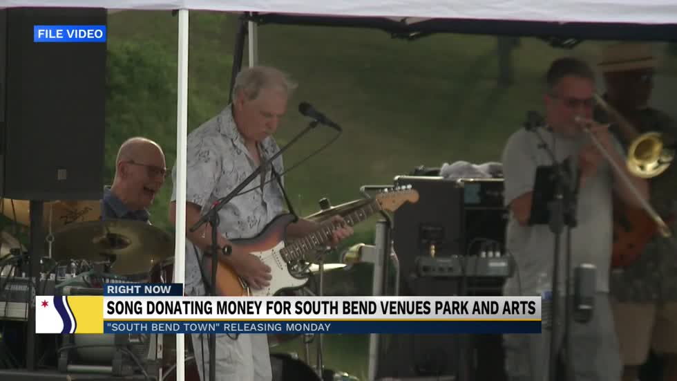 Local songwriter dedicates song to South Bend to raise money...