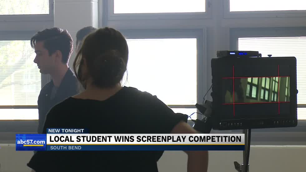 Local student wins screenplay competition
