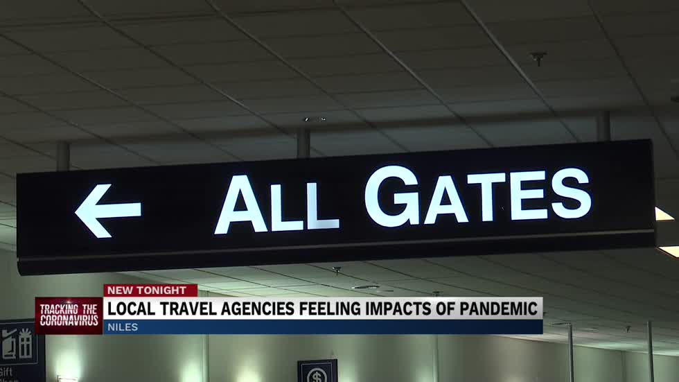 Local travel agencies feeling the impact of the pandemic