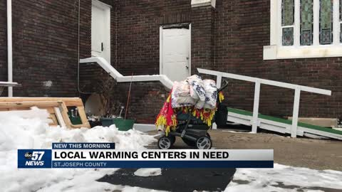 Local warming centers in need