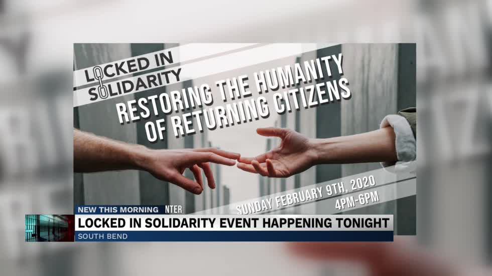 Locked in Solidarity event to bring awareness to an important cause