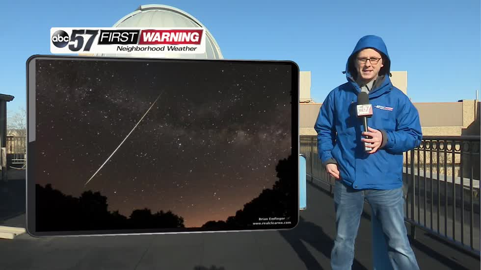 Dazzling meteor shower to brighten Michiana skies
