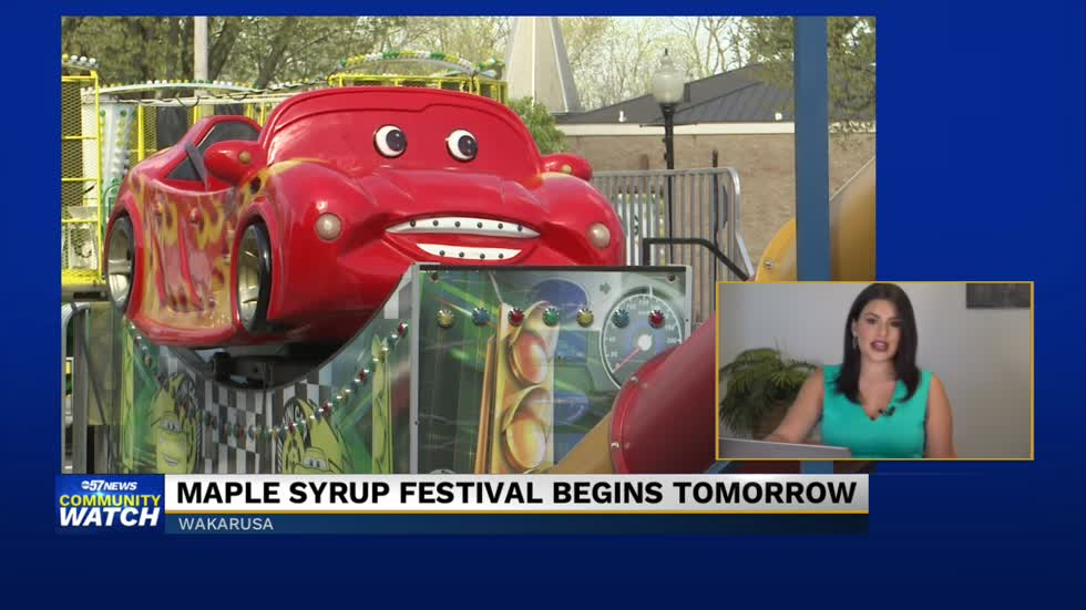 Maple Syrup Festival begins tomorrow