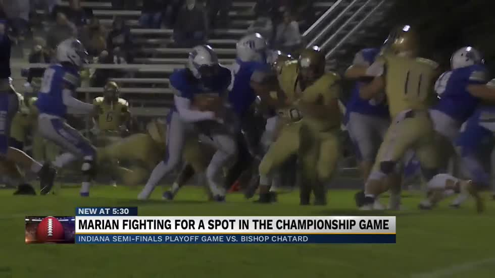 Marian Knights prep for biggest game of the year