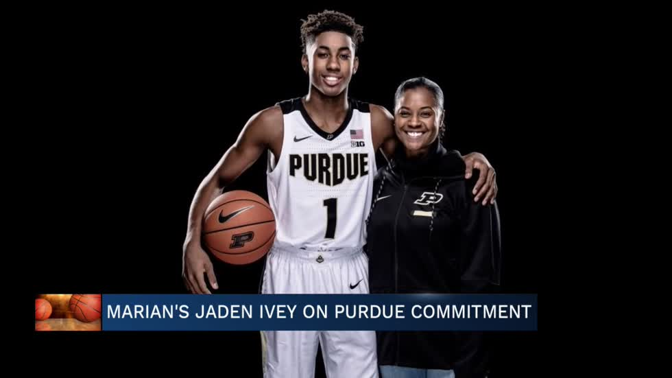 Marian's Jaden Ivey discusses Purdue commitment