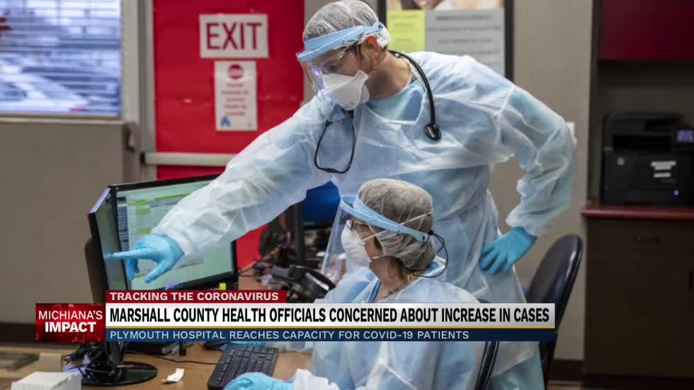 Marshall County Health officials concerned about increase of COVID-19 cases