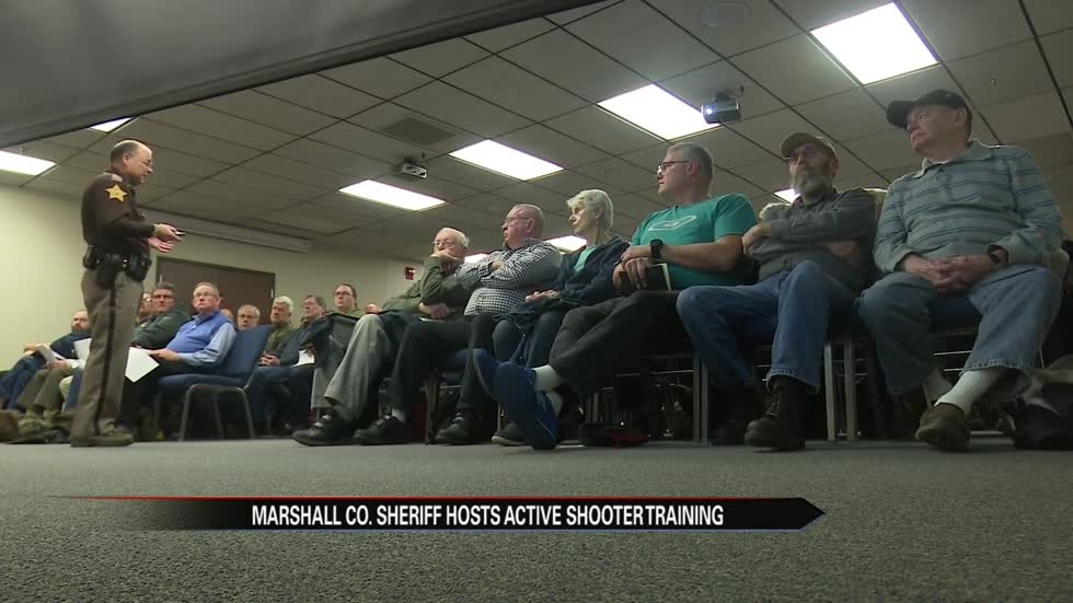 Marshall County sheriff prepping churchgoers for active shooter