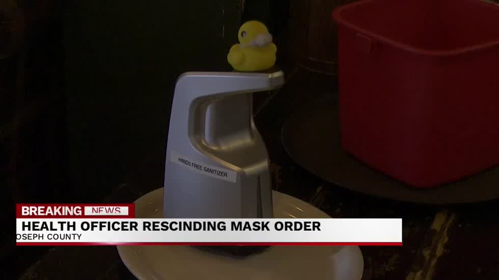 St. Joseph County Health Officer rescinds health order including...
