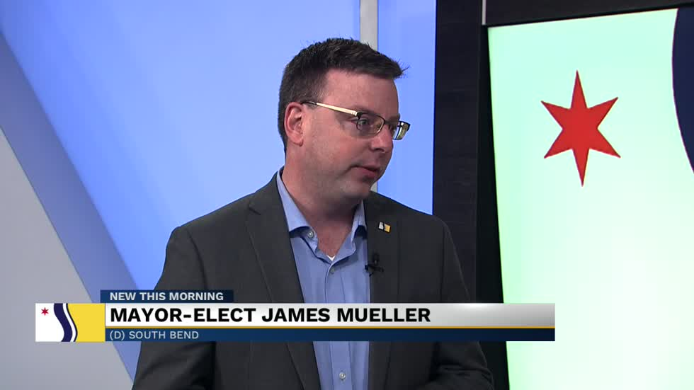 Mayor-elect James Mueller set to take office January 1