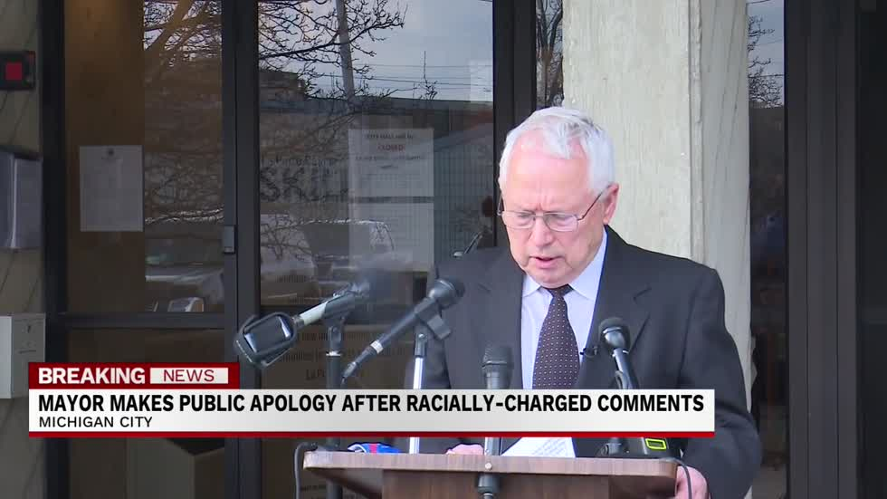 Michigan City Mayor Parry apologizes for racially charged comments