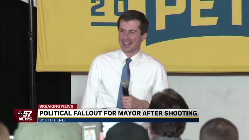 Mayor Pete skips campaign events for march in South Bend