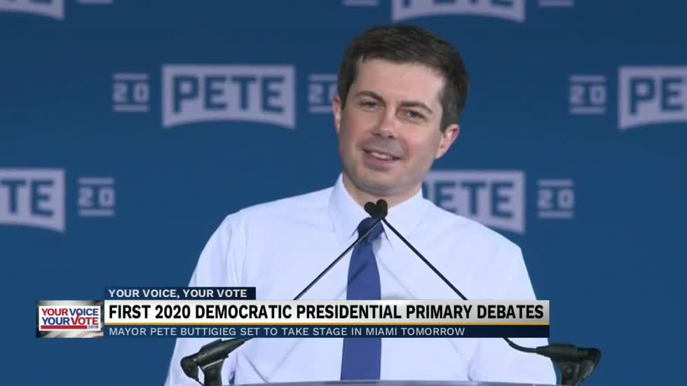 First 2020 Democratic presidential primary debates
