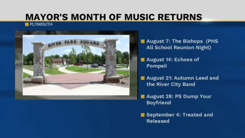 Mayor's Month of Music Returns in Plymouth