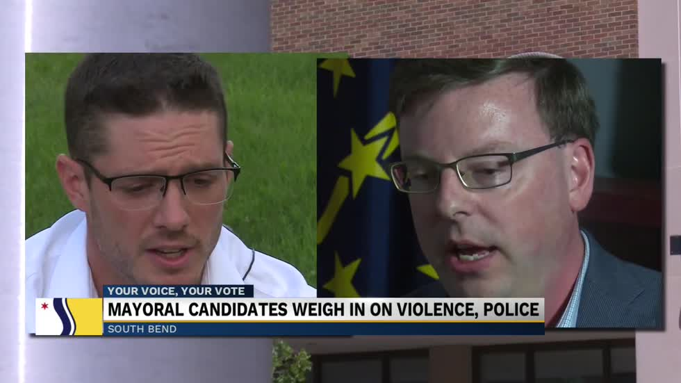 South Bend mayoral candidates speak on recent public safety issues