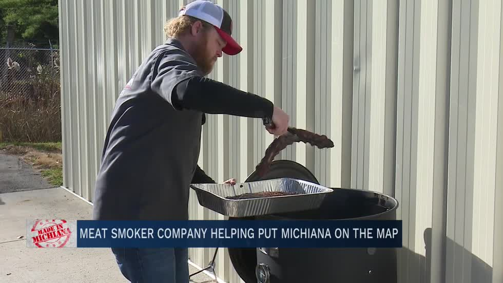 Meat smoker company helping put Michiana on the map