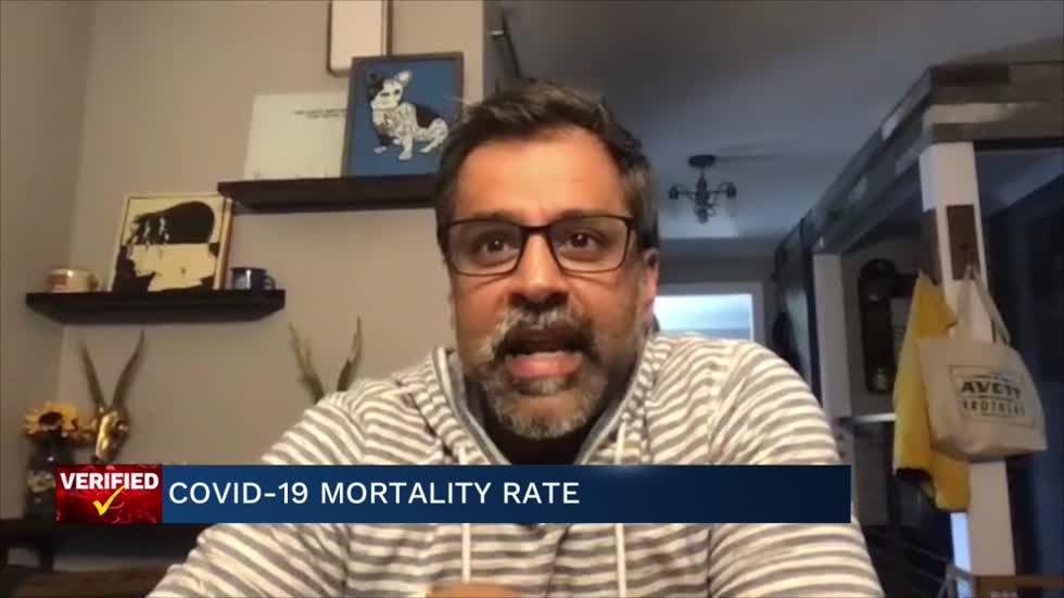 Medical Minute: COVID-19 mortality rate