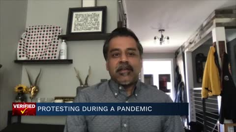 Medical Minute: Protesting during a pandemic