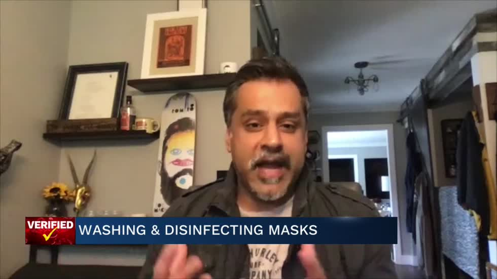 Medical Minute: Washing and disinfecting masks