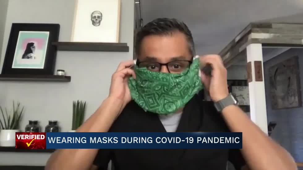 Medical Minute: Wearing masks during the COVID-19 pandemic