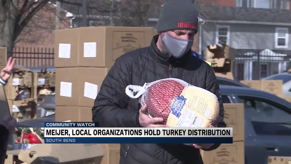 Meijer donates 5,000 turkeys to the Food Bank of Northern Indiana