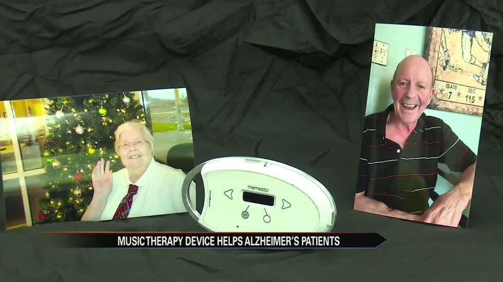 Music therapy device helps Alzheimer's patients