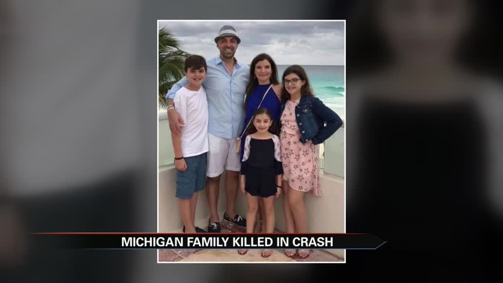 Michigan family of 5 killed in wrong-way crash in Kentucky
