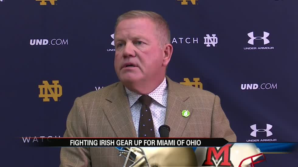 Miami of Ohio's coach used to coach with Brian Kelly